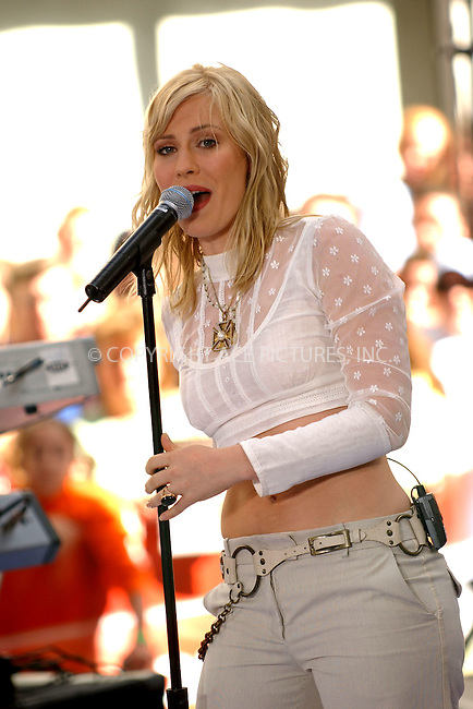 WWW.ACEPIXS.COM . . . . . ....June 9 2006, New York City....British singer Natasha Bedingfield performs at the Today Show at the Rockefeller Center.....Please byline: KRISTIN CALLAHAN - ACEPIXS.COM.. . . . . . ..Ace Pictures, Inc:  ..(212) 243-8787 or (646) 769 0430..e-mail: info@acepixs.com..web: http://www.acepixs.com