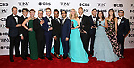 'Dear Evan Hansen' cast & creative team poses at the 71st Annual Tony Awards, in the press room at Radio City Music Hall on June 11, 2017 in New York City.