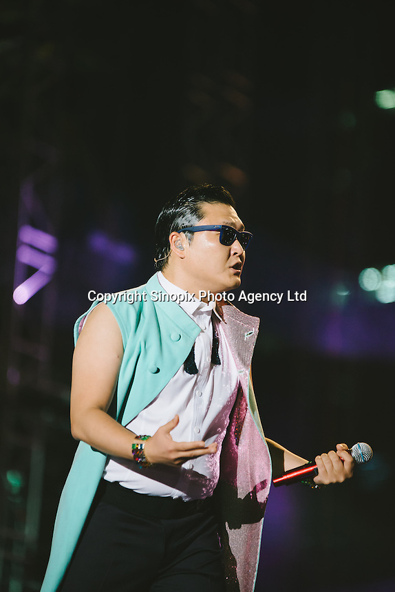 K-Pop sensation PSY received a big welcome from his home fans. Approximately 100,000 fans attended his free concert at Seoul Plaza on Oct 4, 2012.