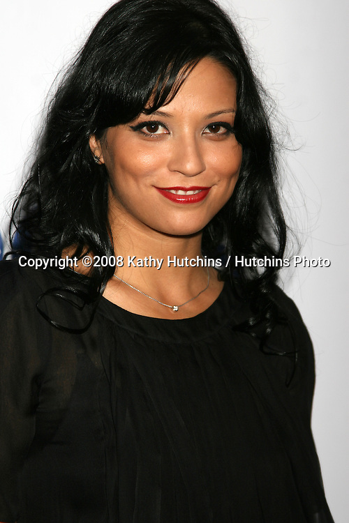 Navi Rawat  arriving at the CBS TCA Summer 08 Party at Boulevard 3 in Los Angeles, CA on.July 18, 2008.©2008 Kathy Hutchins / Hutchins Photo .