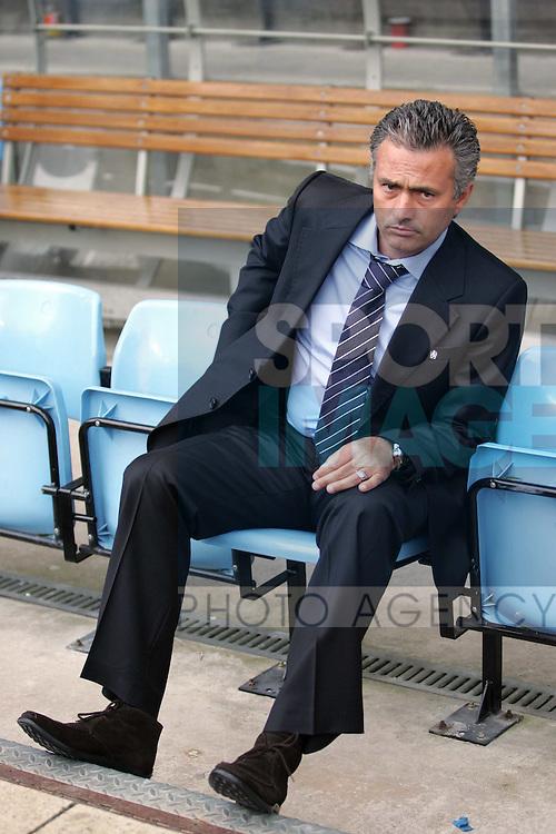 Chelsea's Jose Mourinho. .Pic: SPORTIMAGE/David Klein