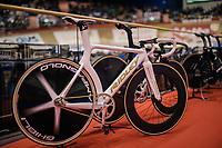 Ridley bikes' beautiful Arena track bike<br /> <br /> Lotto 6daagse Vlaanderen-Gent 2018 / Gent6<br /> day 5