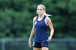 CARY, NC - JULY 11: Abby Dahlkemper. The North Carolina Courage held a training session on July 11, 2017, at WakeMed Soccer Park Field 6 in Cary, NC.