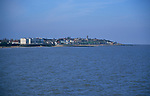 AF5GT6 View of Walton on the Naze from the pier Essex England