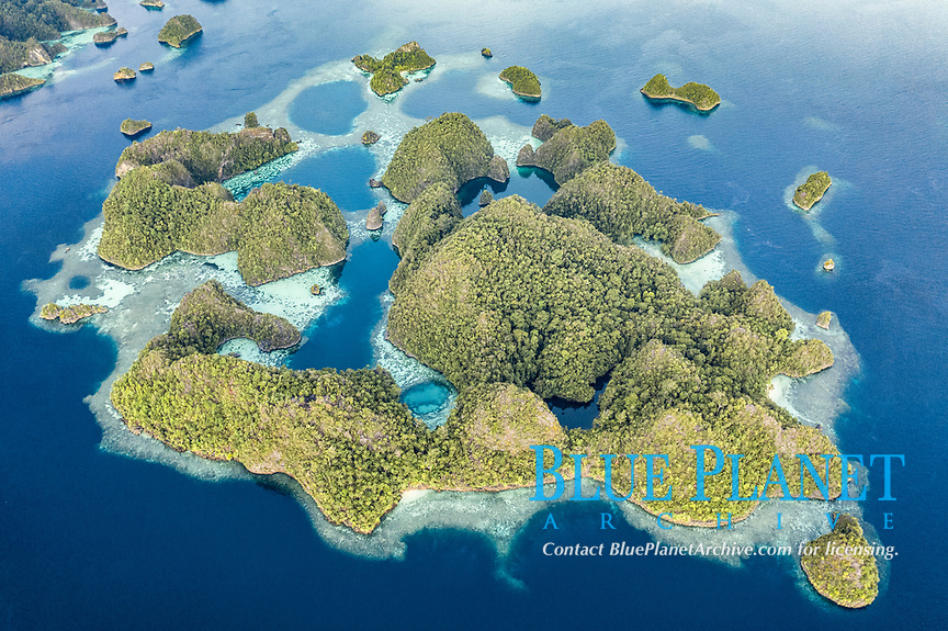 Raja Ampat Islands Aerial