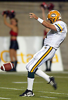 Sean Fleming Edmonton Eskimos 2003. Photo copyright Scott Grant.