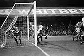 23/03/79 Blackpool v Shrewsbury Division 3..Derek Spence delighted at the scoreline....© Phill Heywood.