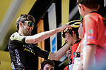 Luke Durbridge (AUS) Mitchelton-Scott at sign on before the start of Stage 16 of the 2019 Tour de France running 177km from Nimes to Nimes, France. 23rd July 2019.<br /> Picture: ASO/Pauline Ballet | Cyclefile<br /> All photos usage must carry mandatory copyright credit (© Cyclefile | ASO/Pauline Ballet)