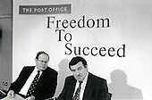 Mike Heron and Bill Cockburn (Chair and Chief Executive of the Post Office) respond to government privatisation proposals.