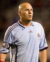 Colorado Rapids forward Conor Casey sporting the Captains arm band. The Colorado Rapids defeated the Chivas USA 1-0 at Home Depot Center stadium in Carson, California on Friday evening March 26, 2010.  .