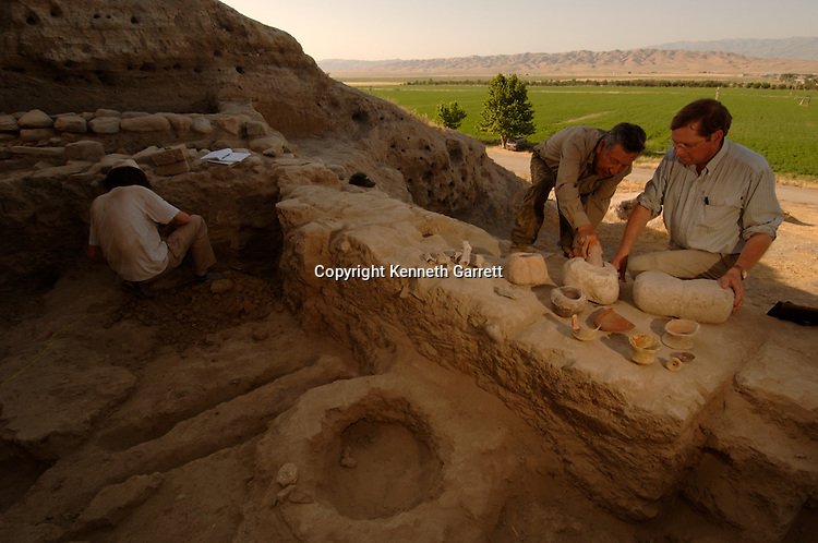 Oxus Civilization; Turkmenistan; BMAC; Fred Hiebert, National Geographic Fellow,  Ancient Cultures; Asia, mm7226, Oxus, Oxus River