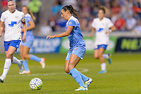 Bridgeview, IL - Saturday June 18, 2016: Vanessa DiBernardo during a regular season National Women's Soccer League (NWSL) match between the Chicago Red Stars and the Boston Breakers at Toyota Park.