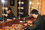"""- A Tribute to Pine Valley - All My Children's Vincent Irizarry """"David"""" signs autographs for fans for Q&A, autographs, photos on February 17, 2013 at Valley Forge Casino Resort in King of Prussia, PA. (Photo by Sue Coflin/Max Photos)"""