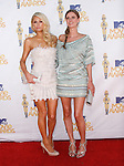 Nicky Hilton & Paris Hilton at the 2010 MTV Movie Awards held at The Gibson Ampitheatre in Universal City, California on June 06,2010                                                                               © 2010 Debbie VanStory / Hollywood Press Agency