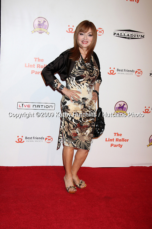 Judy Tenuta.arriving at the 2009 Lint Roller Party .Hollywood Palladium.Los Angeles,  CA.October 3, 2009.©2009 Kathy Hutchins / Hutchins Photo.