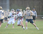 Ole MIss vs. Georgia Tech's Joseph Burton (13) in lacrosse at the Ole Miss Intramural Fields in Oxford, Miss. on Saturday, February 2, 2013. Georgia Tech won 8-5.