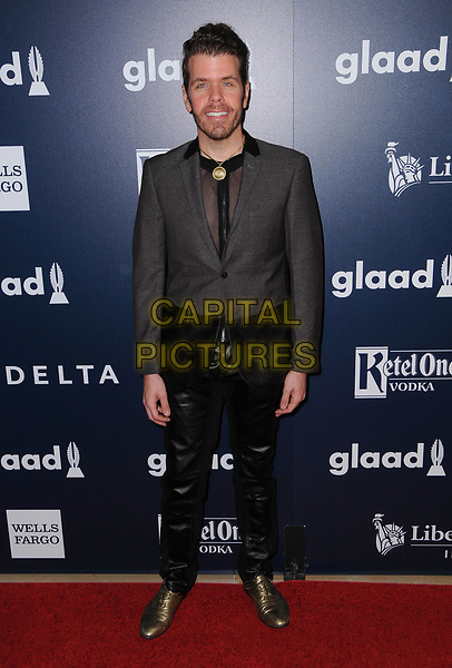 01 April 2017 - Beverly Hills, California - Perez Hilton.  28th Annual GLAAD Media Awards held at The Beverly Hilton Hotel in Beverly Hills.  <br /> CAP/ADM/BT<br /> &copy;BT/ADM/Capital Pictures