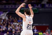 Real Madrid's Sergio Llullduring Turkish Airlines Euroleague match between Real Madrid and CSKA Moscow at Wizink Center in Madrid, Spain. January 06, 2017. (ALTERPHOTOS/BorjaB.Hojas)