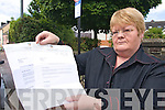 Planning: Marian Kearney from Killorglin holding the letters she received from Kerry County Council regarding complaints/submissions that she never made to the planning authority.