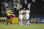 Al Sadd vs Locomotiv during the 2015 AFC Champions League Group C match on May 17, 2015 at the Jassim Bin Hamad Stadium in Doha, Qatar. Photo by Adnan Hajj / World Sport Group