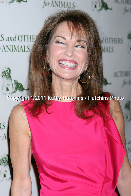 "LOS ANGELES - APR 9:  Susan Lucci in the green room of ""Actors and Others for Animals"" Annual Fundraiser 2011 at Universal Hilton Hotel on April 9, 2011 in Los Angeles, CA"