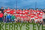 CHAMPIONS: The Dingle U21 team winner of the Acorn U21 Football Club Championship Final at the Kerins O'Rahillys grounds on Saturday.