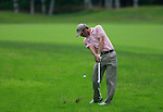Bradley Dredge (WAL) plays his 2nd shot from the rough on the 11th hole during Day 2 of the BMW Italian Open at Royal Park I Roveri, Turin, Italy, 10th June 2011 (Photo Eoin Clarke/Golffile 2011)