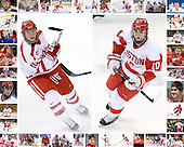 BU #10s - Chris Higgins (top half of border) and Corey Trivino (lower half of border) - 24x30 image.