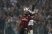 Blaise Matuidi of Juventus and Franck Kessie  during the  Coppa Italia ( Tim Cup) final soccer match,  Ac Milan  - Juventus Fc       at  the Stadio Olimpico in Rome  Italy , 09 May 2018