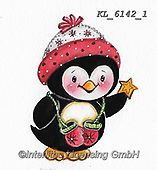 CHRISTMAS ANIMALS, WEIHNACHTEN TIERE, NAVIDAD ANIMALES, paintings+++++,KL6142/1,#xa# ,sticker,stickers