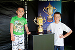 Counties Manukau Rugby Union Junior Registration day held at Bayer Growers Stadium on March 9th 2011 in conjunction with the display of 6 of the rugby worlds most cherished trophies - Webb Ellis Rugby World Cup, Bledisloe Cup, Tri Nations Cup, Junior Rugby World Championship, Womens World Cup & the Hillary Shield.