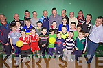 Dads & Lads: Final night for the Dads and Lads group last Friday that have been meeting regularly in the Community Centre in Ballybunion