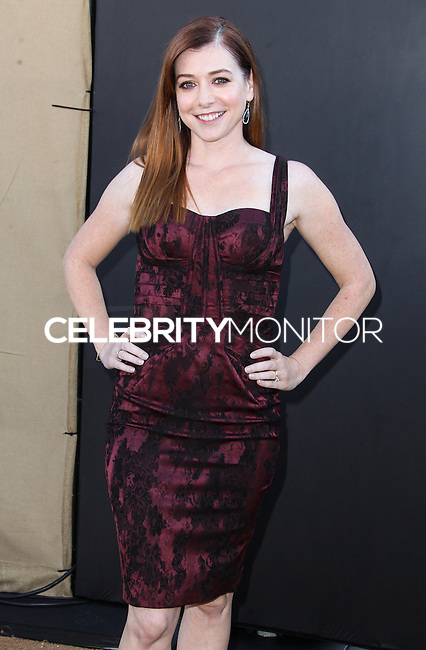 BEVERLY HILLS, CA - JULY 29: Alyson Hannigan attends the CBS, Showtime, CW 2013 TCA Summer Stars Party at 9900 Wilshire Blvd on July 29, 2013 in Beverly Hills, California. (Photo by Celebrity Monitor)