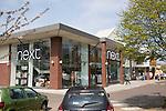 Next store in Suffolk Retail park, central Ipswich, Suffolk, England, UK