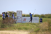 Lucas Bjerregaard (DEN) on the 7th tee during Round 1 of the Rocco Forte Sicilian Open 2018 on Thursday 5th May 2018.<br /> Picture:  Thos Caffrey / www.golffile.ie<br /> <br /> All photo usage must carry mandatory copyright credit (&copy; Golffile | Thos Caffrey)