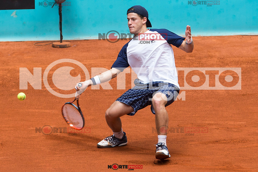 Diego Schwartzman during the Mutua Madrid Open Tennis 2017 at Caja Magica in Madrid, May 10, 2017. Spain. /NortePhoto.com **NortePhoto.com