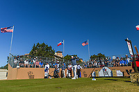 Julian Suri (USA) watches his tee shot on 10 during Round 4 of the Valero Texas Open, AT&amp;T Oaks Course, TPC San Antonio, San Antonio, Texas, USA. 4/22/2018.<br /> Picture: Golffile | Ken Murray<br /> <br /> <br /> All photo usage must carry mandatory copyright credit (&copy; Golffile | Ken Murray)