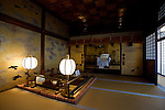 Photo shows the Yushinden, built for the Imperial family, at Dogo Onsen, thought to be Japan's oldest spa in Matsuyama City, Ehime Prefecture, Japan on 20 Feb. 2013.  Photographer: Robert Gilhooly