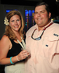 """Claire and David DeRoode at the """"A Night in Havana""""  benefit at Concepcion on W. Alabama  Saturday July 21, 2012.(Dave Rossman/For the Chronicle)"""