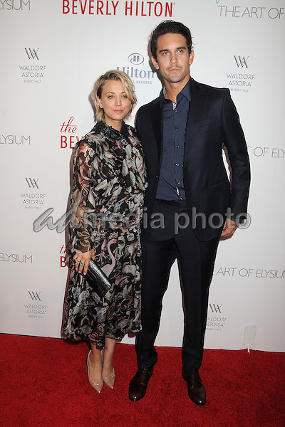 21 August 2015 - Beverly Hills, California - Kaley Cuoco, Ryan Sweeting. The Beverly Hilton 60th Anniversary Party held at The Beverly Hilton Hotel. Photo Credit: Byron Purvis/AdMedia