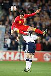 Gareth Bale and Darren Fletcher