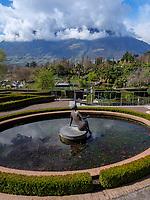 G&auml;rten von Schloss Trauttmansdorff, Meran-Merano, Provinz Bozen-S&uuml;dtirol, Italien<br /> gardens of Castle Trauttmansdorff, Meran-Merano, province Bozen-South Tyrol, Italy