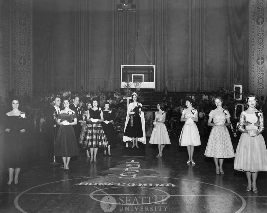 Seattle University historical photo from 1959