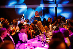 © Joel Goodman - 07973 332324 . 01/03/2018 . Manchester , UK . Partner of the Year winner is GERALDINE RYAN of Hill Dickinson LLP . The Manchester Evening News Legal Awards at the Midland Hotel in Manchester City Centre . Photo credit : Joel Goodman