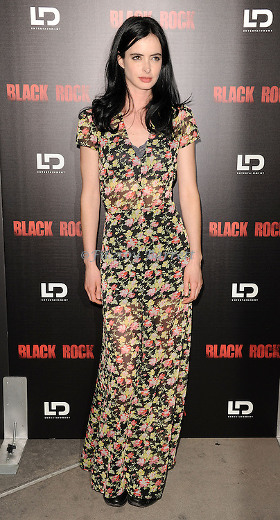 """Krysten Ritter at the screening of """"Black Rock"""" held at the Arclight Theatre in Los Angeles, CA. on May 8, 2013."""