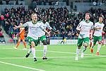 Stockholm 2014-04-14 Fotboll Superettan Hammarby IF - Degerfors IF :  <br /> Hammarbys Erik Israelsson jublar efter att ha gjort 5-0<br /> (Foto: Kenta J&ouml;nsson) Nyckelord:  HIF Bajen Degerfors jubel gl&auml;dje lycka glad happy