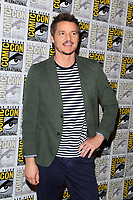 "SAN DIEGO - July 20:  Pedro Pascal at the ""Kingsman: The Golden Circle"" Photocall at the Comic-Con International on July 20, 2017 in San Diego, CA"