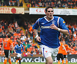 Kyle Lafferty celebrates his goal for Rangers