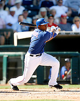 Elvis Andrus   - Texas Rangers - 2009 spring training.Photo by:  Bill Mitchell/Four Seam Images