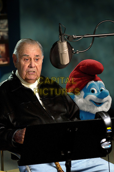 "Jonathan Winters voices ""Papa Smurf"" .in The Smurfs  .*Filmstill - Editorial Use Only*.CAP/FB.Supplied by Capital Pictures."